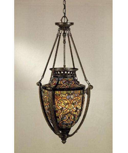 Ornate Tiffany Pendant Light