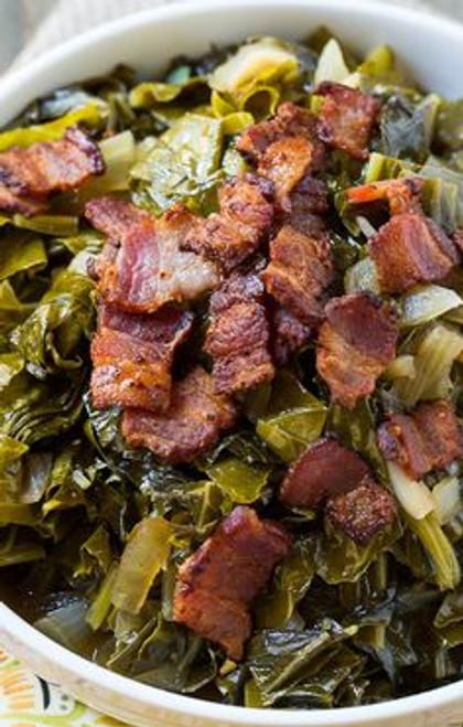 Spicy Collard Greens - (Free Recipe below)
