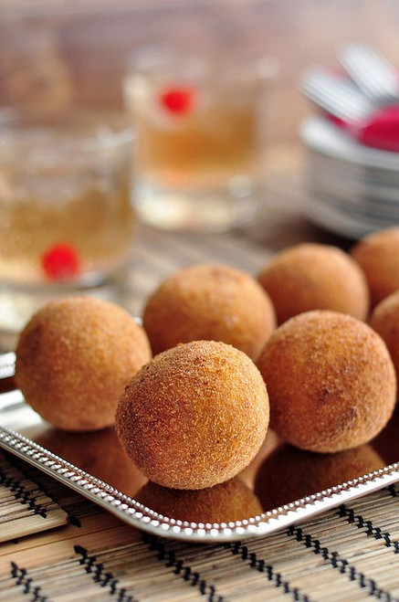 Cuban Potato Balls (Papas Rellenas) - (Free Recipe below)