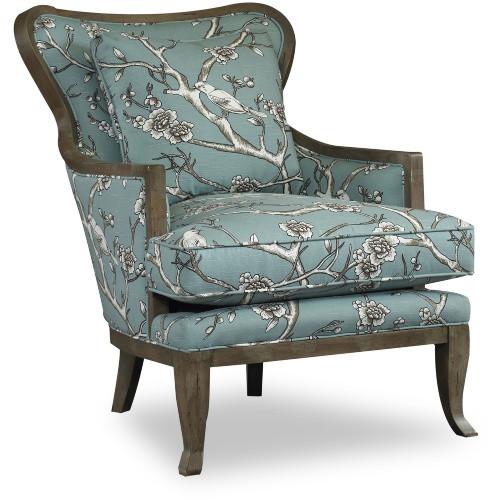 Kenley Wood Jade Armchair - multiple swatches