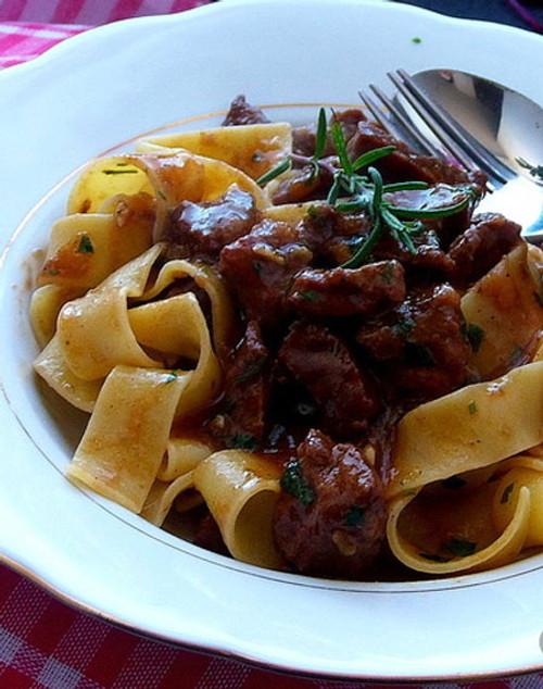 Tuscan Beef Stew - (Free Recipe below)