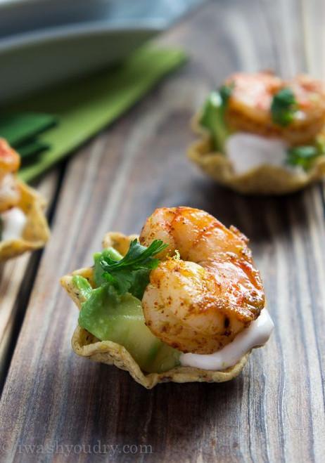 Shrimp Taco Bites - (Free Recipe below)