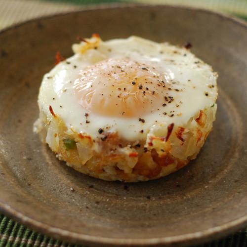 Baked Eggs Napoleon - (Free Recipe below)