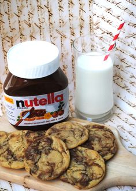 Peanut Butter and Nutella Cookies - One Dozen w/ recipe below)