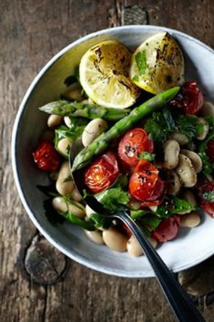 Mediterranean Cannellini Bean Salad - (Free Recipe below)
