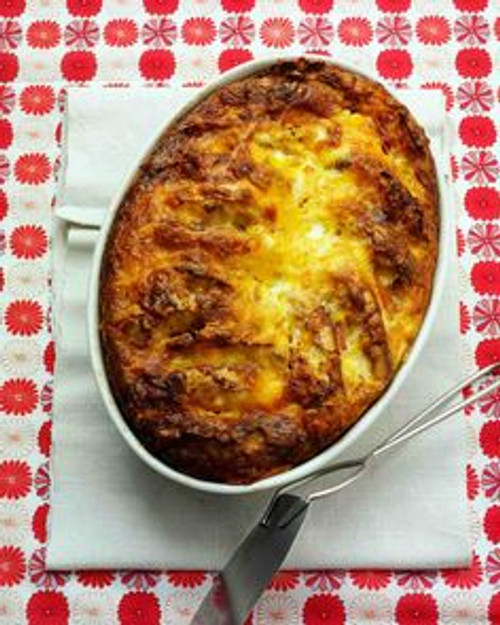 Canadian Bacon Strata - (Free Recipe below)