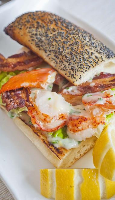 Lobster Club Sandwich - (Free Recipe below)