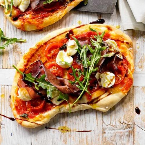 Bresaola & Burrata Pizza - (Free Recipe below)