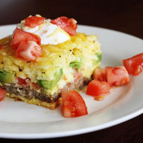 California Breakfast Bake - (Free Recipe below)