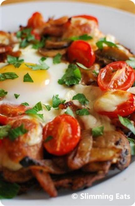 Breakfast Hash Brown Pizza - (Free Recipe below)
