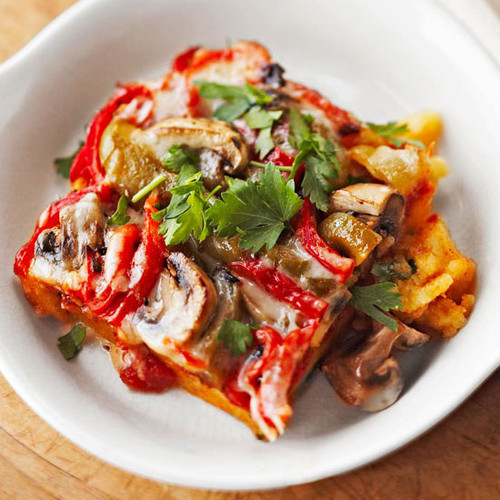 Vegetable Polenta Lasagna - (Free Recipe below)