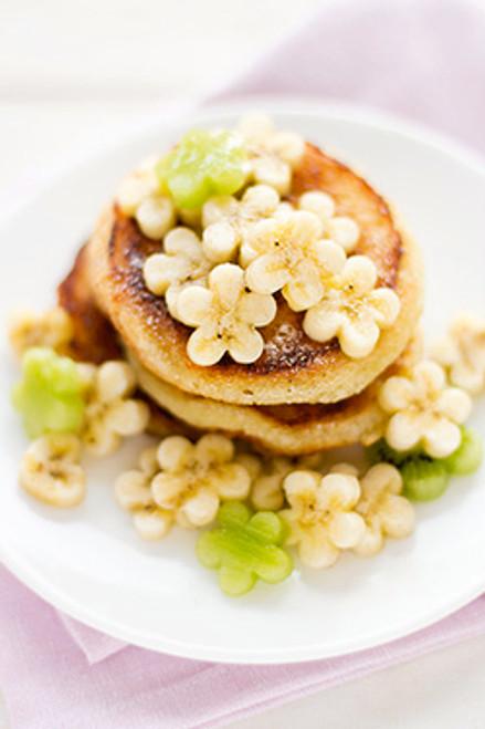 Banana Pecan Pancakes - (Free Recipe below)