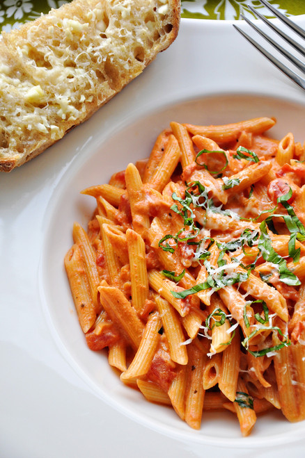 Vodka Penne Pasta - (Free Recipe below)