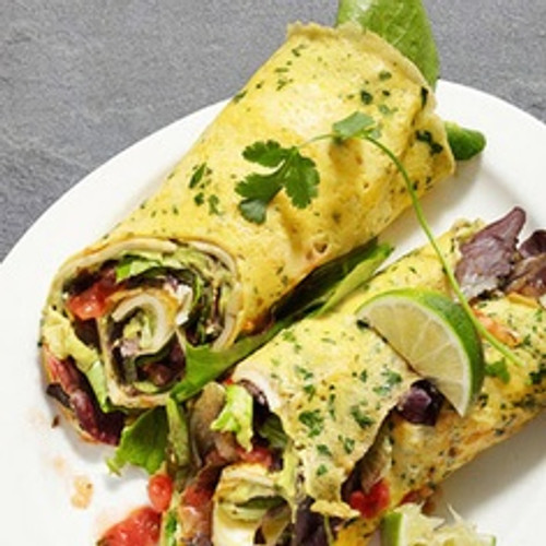 Omelet Wraps - (Free Recipe below)