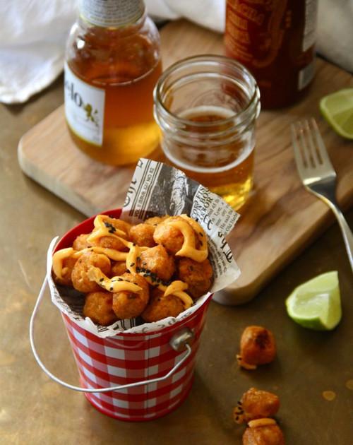 Sweet Potato Tater Tots with Sriracha Aioli - (Free Recipe below)