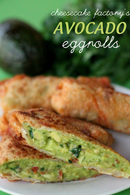 Avocado Egg Rolls - (Free Recipe below)