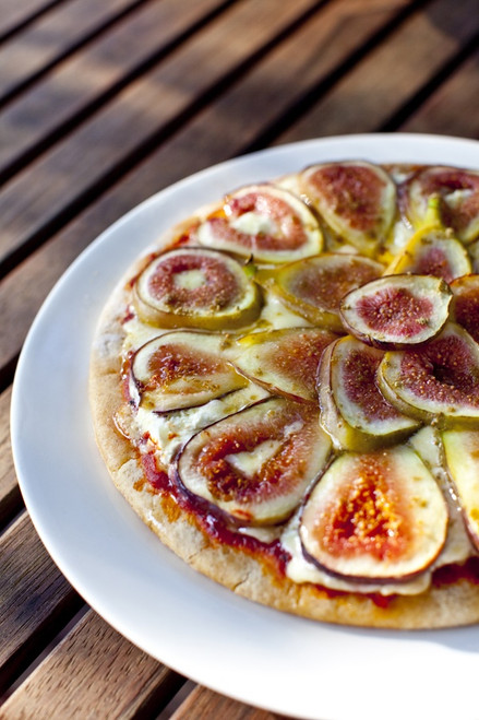 Fig Goat Cheese Pizza - (Free Recipe below)