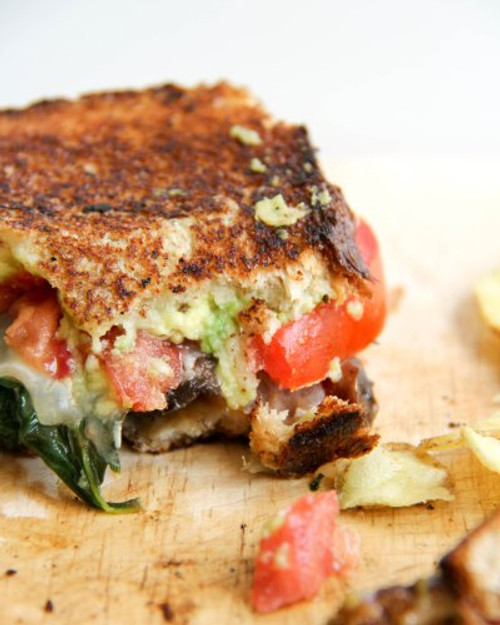 Loaded Veggie Grilled Cheese Sandwich - (Free Recipe below)
