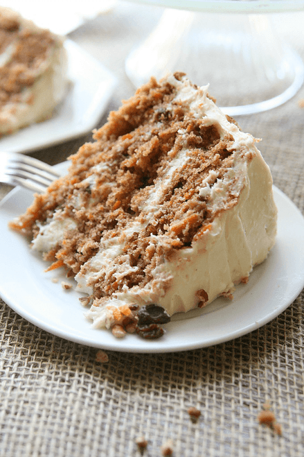 SOUTHERN STYLE CARROT CAKE - (Free Recipe below)