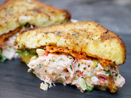 Lobster French Toast Sandwich - (Free Recipe below)