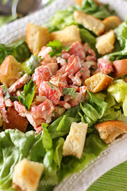 Lobster Roll Salad - (Free Recipe below)