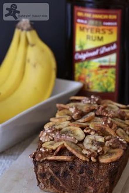 Date, Banana, Rum Loaf Bread w / recipe below