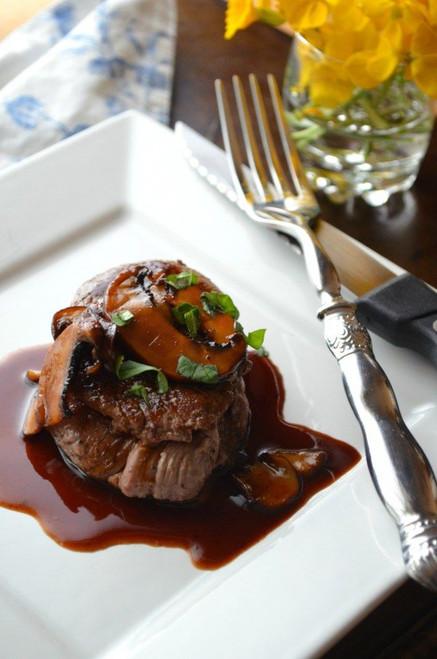 Beef Tenderloin Medallions with a Madeira Wine Pan Sauce - (Free Recipe below)