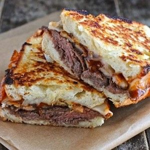 Roast Beef Grilled Cheese - (Free Recipe below)