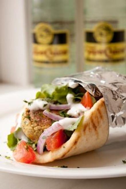 Falafel Wraps - (Free Recipe below)