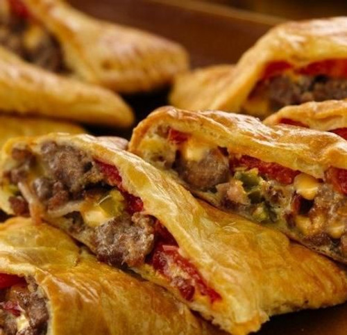 Bacon Cheeseburger Pockets - (Free Recipe below)