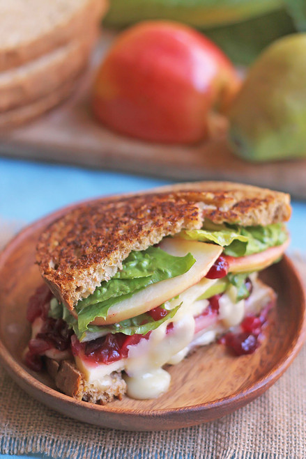 TOASTED HARVEST SANDWICH - (Free Recipe below)