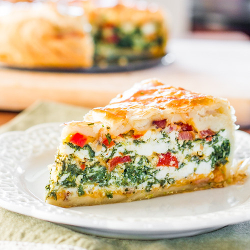 SPINACH RICOTTA BRUNCH BAKE - (Free Recipe below)