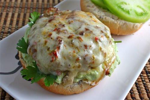 Salsa Verde Turkey Burgers - (Free Recipe below)