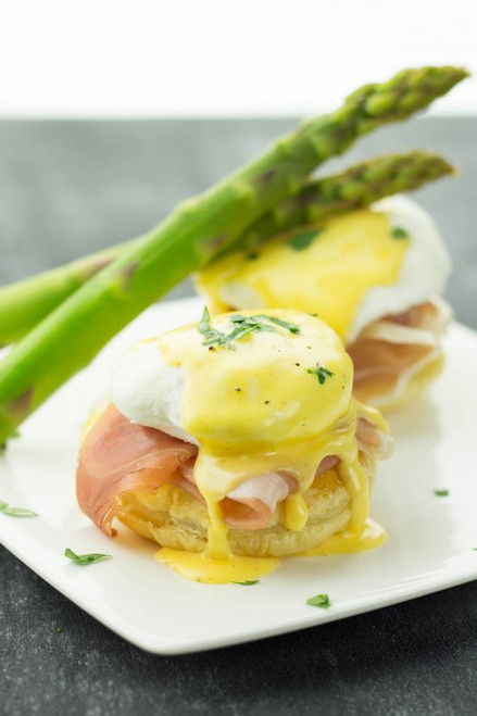 PROSCIUTTO EGGS BENEDICT - (Free Recipe below)