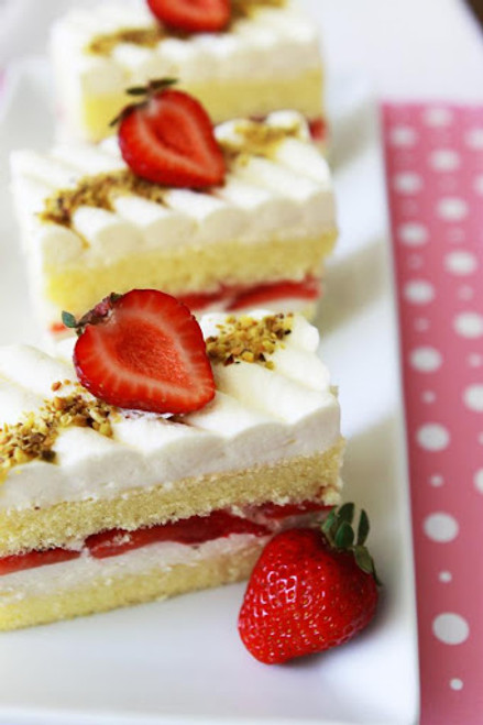 Strawberry Shortcake - (Free Recipe below)