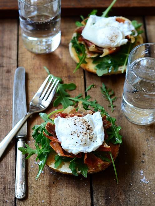 Toasted Brunch Breakfast Sandwich - (Free Recipe below)