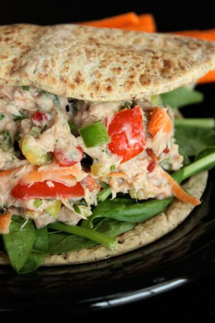 Spicy Garden Tuna Salad - (Free Recipe below)
