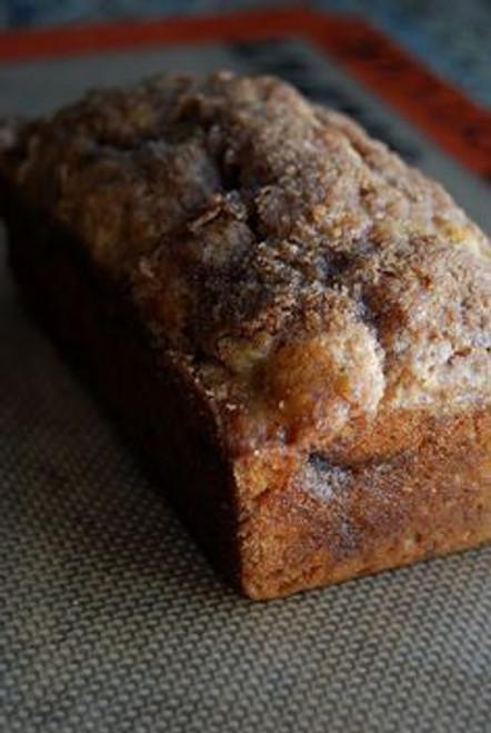 Cinnamon Swirl Banana Bread w/ recipe below