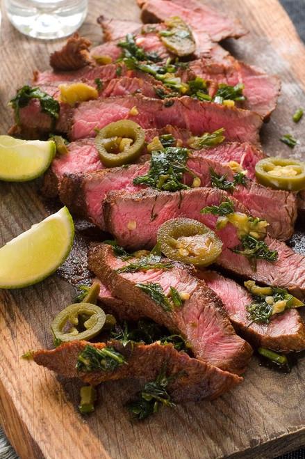 Jalapeno Lime Steak - (Free Recipe below)