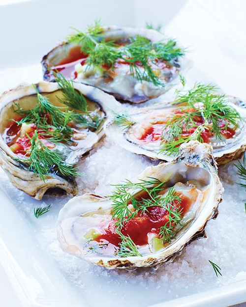 Bloody Mary Oysters - (Free Recipe below)