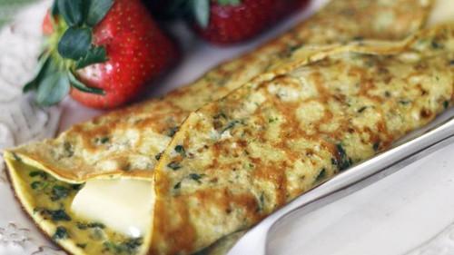 Herbed Brie Omelet - (Free Recipe below)