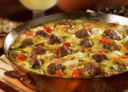 Asiago, Sausage Egg Skillet - (Free Recipe below)
