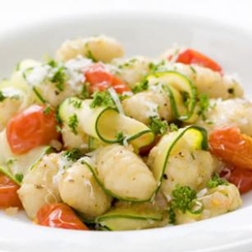 Gnocchi with Zucchini Ribbons & Parsley Brown Butter - (Free Recipe below)