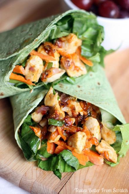 Thai Chicken Crunch Wraps - (Free Recipe below)