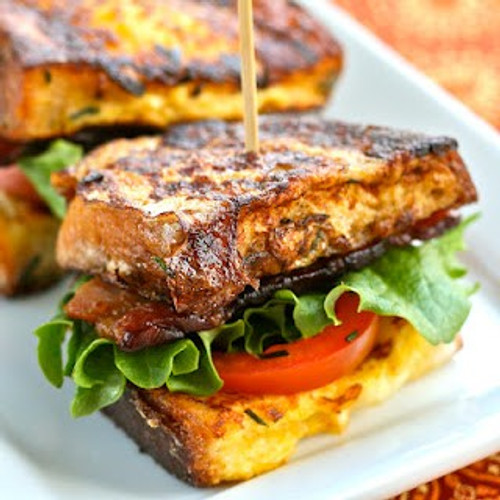 French Toast BLT - (Free Recipe below)