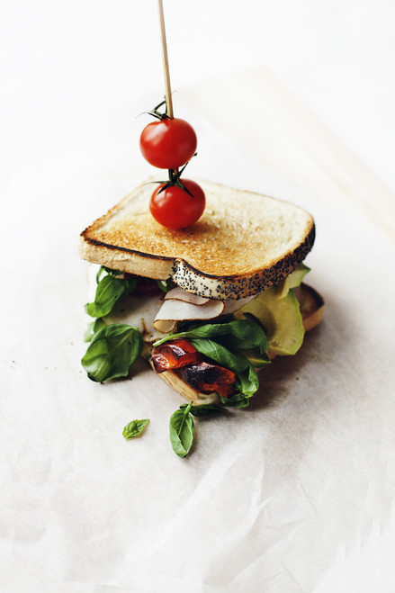 Salad Sandwich - (Free Recipe below)