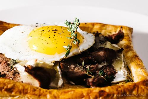 Roast Beef and Brie Breakfast Tarts - (Free Recipe below)