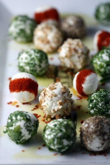 Herbed and Spiced Goat Cheese Balls - (Free Recipe below)