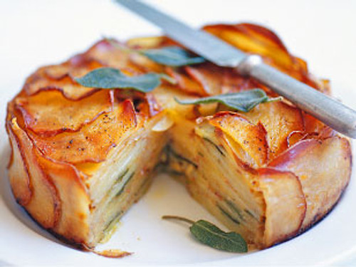 Cheese, Onion and Potato Pie - (Free Recipe below)