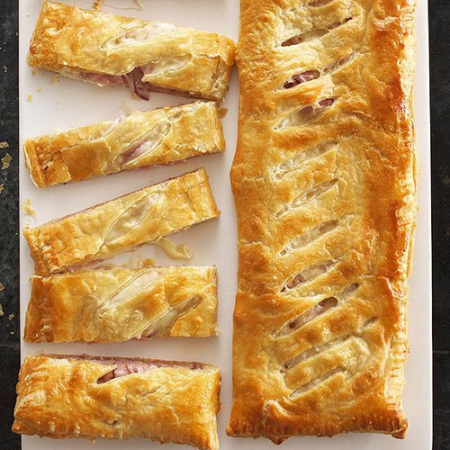 Savory Ham & Cheese Strudel - (Free Recipe below)
